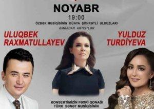 Bu gün ilk dəfə dünya şöhrətli özbək musiqiçilərinin Bakıda konserti keçiriləcək - FOTO
