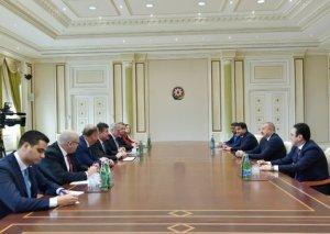 Prezident İlham Əliyev Slovakiyanın Xarici və Avropa İşləri nazirini qəbul edib - FOTO