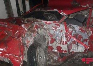 Şəmkirdə 5 nəfərin ölümünə səbəb olan sürücünün avtomobili sərxoş idarə etdiyi müəyyənləşib