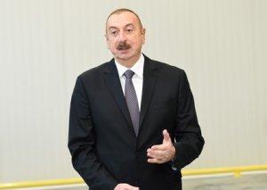 """Azərbaycan Prezidenti: """"Struktur islahatları, siyasi, iqtisadi islahatlar və şəffaflıq ölkəyə böyük faydalar gətirir"""""""