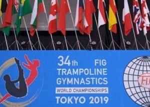 Beynəlxalq Gimnastika Federasiyasının bayrağı Azərbaycana təqdim edilib