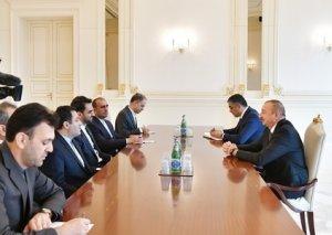 Prezident İlham Əliyev İranın Rabitə və İnformasiya Texnologiyaları nazirini qəbul edib