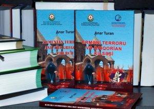"""""""Erməni terroru və Qriqorian kilsəsi"""" nəşr edildi"""