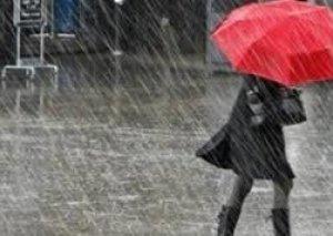 Bəzi yerlərdə intensiv yağış, dağlıq ərazilərdə qar yağıb
