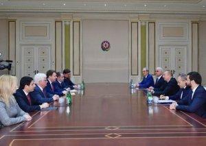 Azərbaycan Prezidenti İlham Əliyev Rusiyanın İqtisadi İnkişaf nazirini qəbul edib