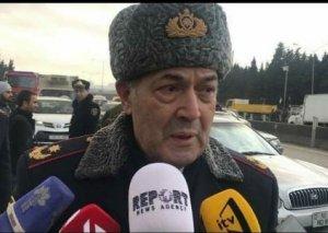 """DYP rəisi: """"Yanğın baş verən ərazidə hər iki istiqamətdə yol açıqdır"""""""