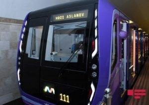Fevralda Bakıya yeni metro vaqonlarının ilk partiyası gətiriləcək