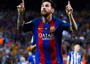 Messi La Liqada 16 il ardıcıl qol vuran ilk oyunçu olub