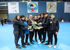 Azərbaycan karateçiləri Avropa çempionatında 8 medal qazandı