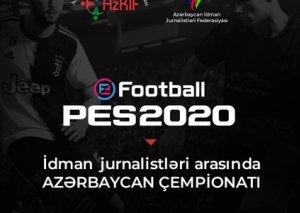 İdman jurnalistləri arasında ilk dəfə PES2020 üzrə Azərbaycan çempionatı keçiriləcək