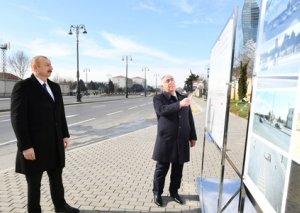 Prezident Bakıda yeraltı piyada keçidinin açılışında iştirak edib - FOTOLAR - YENİLƏNİB