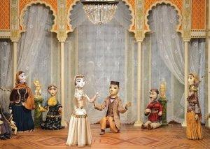 """""""Arşın mal alan"""" operettası Marionet Teatrının səhnəsində"""