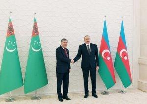"""Qurbanqulu Berdiməhəmmədov: """"Biz Azərbaycana rəsmi səfərə çox böyük əhəmiyyət veririk"""""""