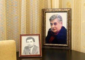 Mərhum Rafael Dadaşov son mənzilə yola salınır - FOTOLAR