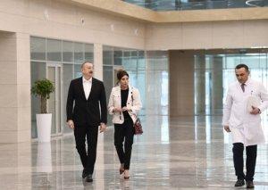 """Prezident İlham Əliyev Bakıda """"Yeni klinika"""" tibb müəssisəsinin açılışında iştirak edib - FOTOLAR"""