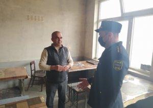 Şəkidə karantin rejimini pozan kafe aşkar edilib