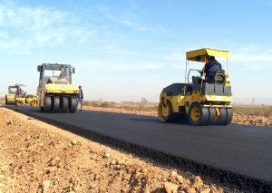 Tovuzda 1 şəhər və 4 kəndi əhatə edən yollar yenidən qurulur