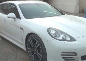 """Cəlilabadda """"Porsche"""" ilə karantini pozan sürücü saxlanıldı"""