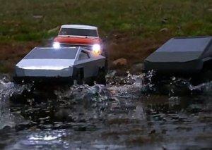 """""""Tesla"""" avtomobilləri suyun üzərində qala biləcək"""
