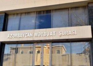 Mətbuat Şurası jurnalistlərə müraciət edib