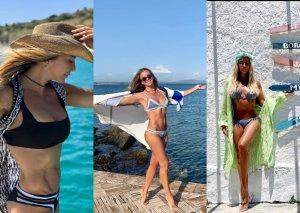 İvanadan bikini və əzələ şousu