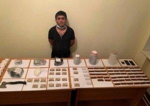 DSX: Sərhəd pozuçularından 20 kq narkotik götürülüb