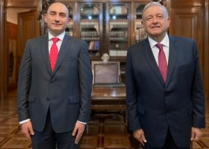 Meksika Prezidenti Azərbaycan səfirinin etimadnaməsini qəbul edib