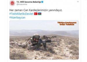 Türkiyə MN Azərbaycana dəstək videosu yayımlayıb - VİDEO