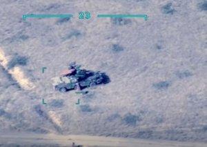 MN: Düşmənin daha bir neçə hərbi texnikası məhv edilib VİDEO