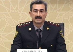 Kamran Əliyev Baş DYP İdarəsinin rəis müavini təyin edilib
