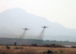MN: Ermənistanın növbəti Su-25 təyyarəsi vurulub