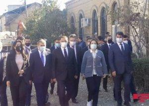 Türkiyənin Baş Ombudsmanı Gəncəyə gedib FOTO YENİLƏNİB
