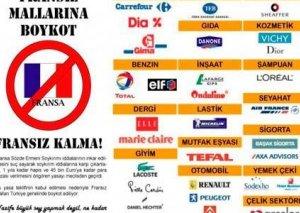 Fransa məhsullarının Azərbaycanda da boykotu gündəmdə
