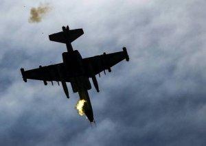 MN: Düşmənin Su-25 döyüş təyyarəsi məhv edilib