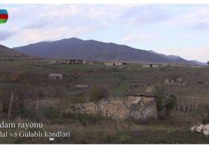 İşğaldan azad olunmuş Abdal və Gülablı kəndlərinin videogörüntüləri