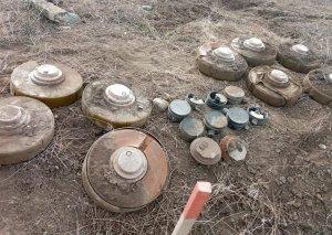 Suqovuşana çəkiləcək avtomobil yolunun minalardan təmizlənilməsi əməliyyatı davam edir (FOTO)