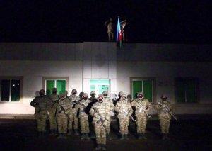 İşğaldan azad olunan Laçın rayonunda Azərbaycan bayrağı qaldırılıb VİDEO