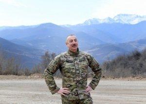 Qalib Ali Baş Komandan Xocavənddə! VİDEO