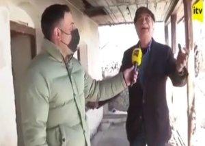 """Polad Bülbüloğlu Şuşadakı evlərində """"Gəl, ey səhər"""" oxudu"""