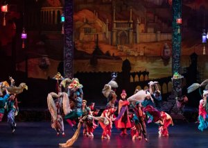 """""""Min bir gecə"""" baleti Sankt-Peterburqda - Fotolar"""