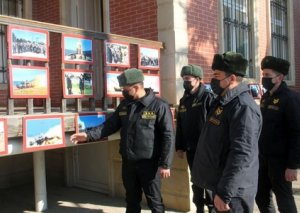 Tankçılar general Həzi Aslanovun ata ocağını ziyarət edib
