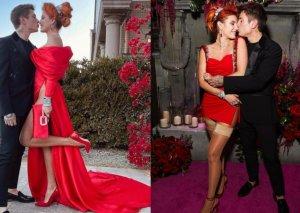Nişanından çox geyimi səs-küy yaratdı - Fotolar