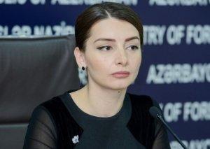 """Leyla Abdullayeva:""""Azərbaycanın guya Ermənistanın """"suveren ərazisini"""" pozduğuna dair iddialar tamamilə əsassızdır"""""""