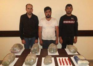 İrandan Azərbaycana narkotik gətirən 5 nəfər saxlanıldı