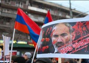 Ermənistanda Paşinyan əleyhinə qeyri-adi aksiya keçirilib