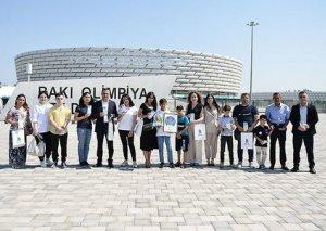 AFFA uşaqlar üçün Avro-2020-nin oyunlarına bilet hədiyyə edib - FOTO