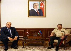 Zakir Həsənov Latviyanın NATO PA-dakı nümayəndə heyətinin üzvü ilə görüşüb