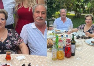 Afaq Bəşirqızı həyat yoldaşı ilə - Fotolar
