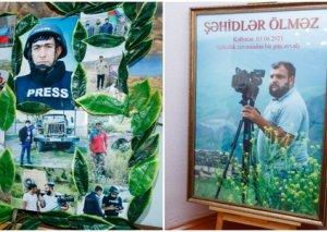 Prezident Şəhid jurnalistlərin ailələrinə ev verdi FOTO
