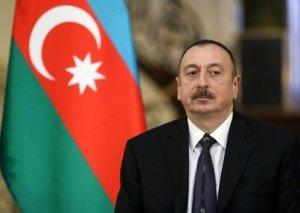 Prezident Goranboyda avtomobil yolunun açılışında iştirak edib